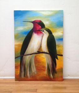 Anna's hummingbirds largest
